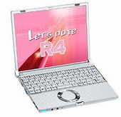 Panasonic R4 laptop - Panasonic Let's Note R4