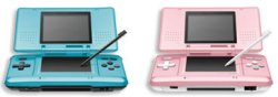 New Pink and blue Nintendo DS
